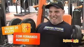 Treino de Bíceps com Fernando Marques