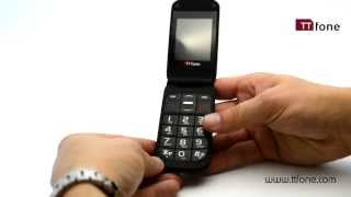 TTfone Venus TT700 Big Button Flip Mobile Phone Easy To