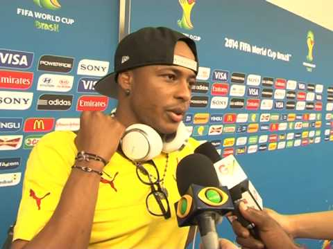 Andre Ayew callson his colleagues not to give up by ts/gbc24/gtvsports+