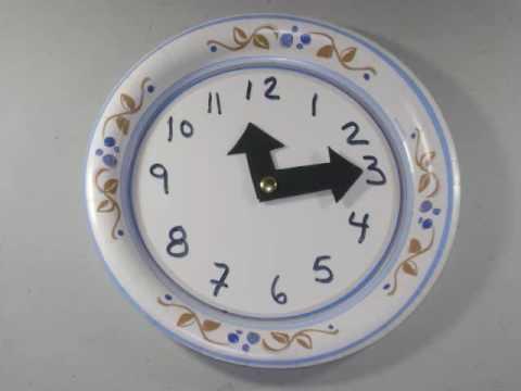 C 243 Mo Hacer Un Reloj Con Un Plato Desechable Youtube