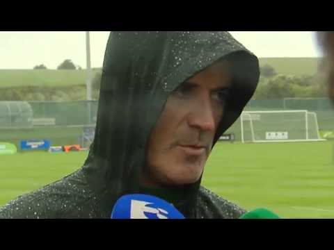 Republic of Ireland v Turkey - Pre Match Interview - Roy Keane (23/5/14)
