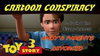 Cartoon Conspiracy Theory Toy Story Divorce Theory