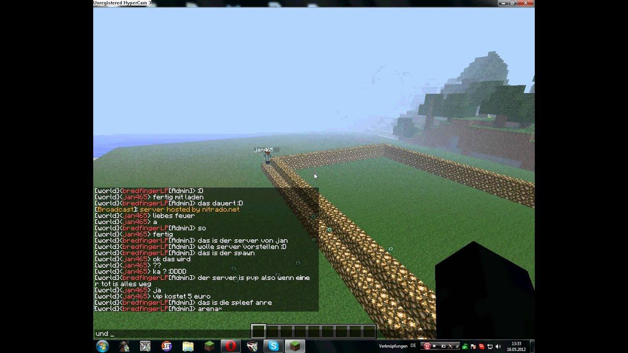 minecraft server 10 slots