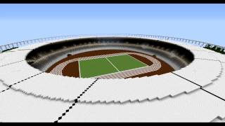 Minecraft Olympic Stadium London 2012 / Minecraft