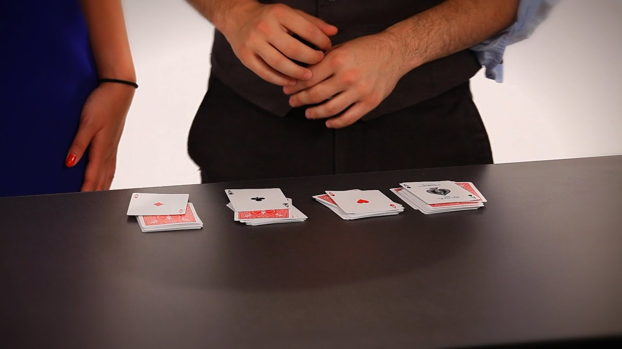card tricks step by step instructions