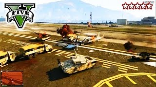 GTA 5 RE-DESTROYING The Military Base! Live Stream