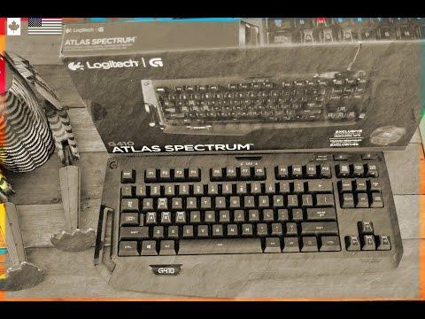 Logitech G410 Spectrum RGB Compact Mechanical Keyboard UNLOCKED EPISODE Hosted by Ruby Rock #22