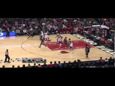 Luol Deng & Chicago Bulls Defending Paul George