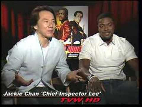Jackie Chan And Chris Tucker Rush Hour 2 Rush hour 3's jackie chan