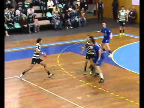 Andebol :: Sporting CP - 30 x CSU Suceava - 24 de 2011/2012 Challenge Cup