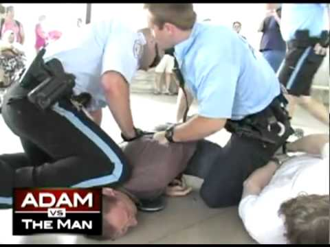 RT's Adam vs the Man host Adam Kokesh arrested