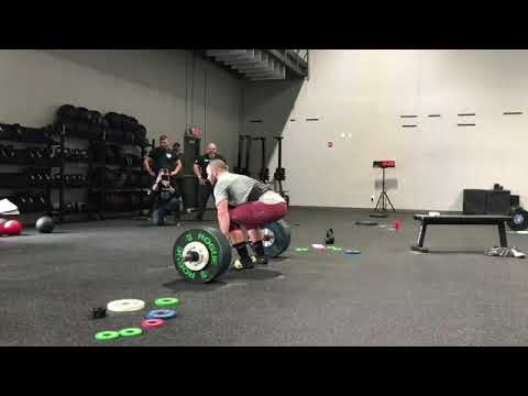 Mat Fraser 18.2 CrossFit Games 385# Clean