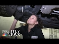 How An All-Female Pennsylvania Car Repair Shop Is Defying Gender Stereotypes   NBC Nightly News