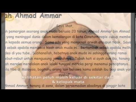 [TERHANGAT] Ahmad Ammar Dalam Kenangan (1993 - 2013)