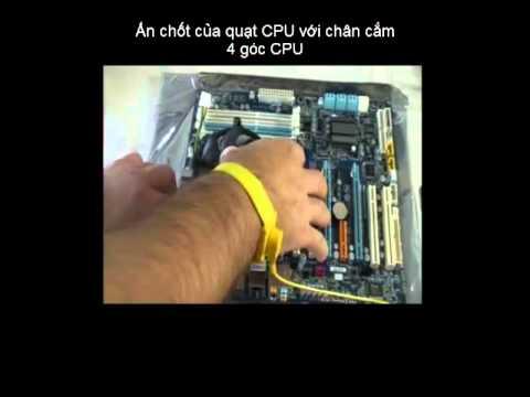 Hướng dẫn tháo lắp máy tính