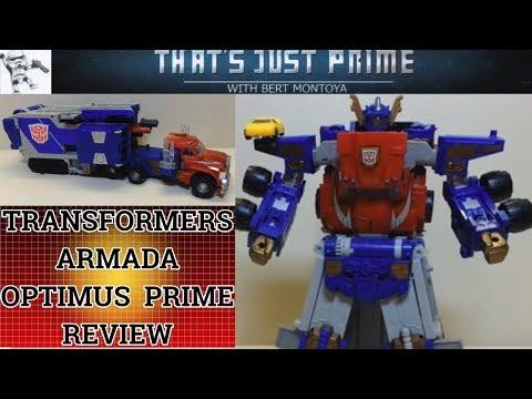 "Transformers Armada Leader Optimus Prime! ""That's Just Prime!"" EP 63"