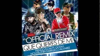 Que Quieres de mi remix Letra Gotay Ft Ñengo Flow,J Alvarez,Farruko,Nova & Jory view on youtube.com tube online.