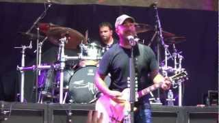 "Uproar Festival Pittsburgh 2012 Staind ""It's Been Awhile"""