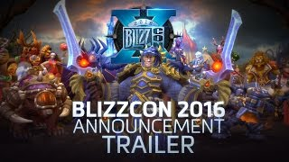 Heroes of the Storm - BlizzCon 2016 Bejelentés Trailer
