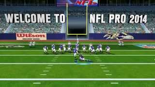 NFL Pro 2014 Official Gameplay Trailer