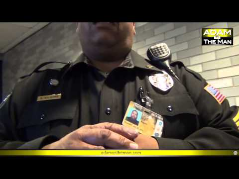 TSA supervisor uses airport cop to keep from being filmed #optout