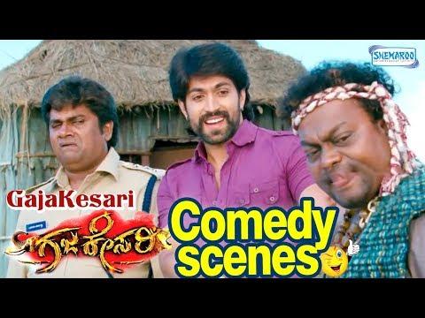 GajaKesari Movie Best Comedy Clip- Yash | Rangayana Raghu | Sadhu kokila