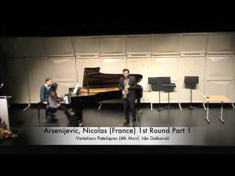 Arsenijevic, Nicolas (France) 1st Round Part 1