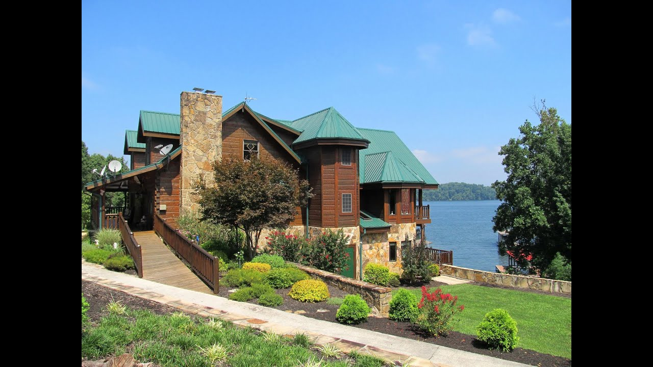 Video of 102 chickasaw point ten mile tennessee real Lake front houses