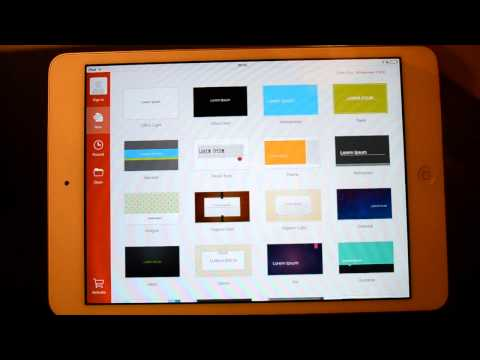 Microsoft Office Powerpoint - iPad App Review