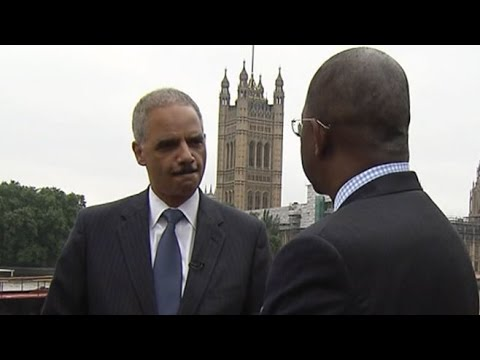 Eric Holder: Threat From Syria 'Frightening'