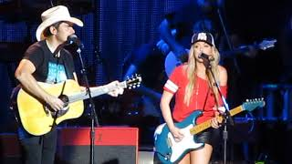 "Brad Paisley & Lindsay Ell - ""Whiskey Lullaby"" at Weekend Warrior Tour"