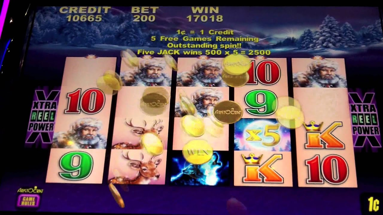 timber wolf slot machine game