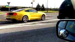 2015 Mustang Triple Yellow V6 Or Ecoboost On The Streets