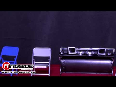 Commentators Playsets - Ringside Collectibles Exclusive Toy Wrestling Action Figure Accessories
