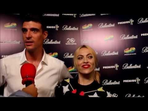 Fiesta de nominados Premios 40 Principales 2014 - Uri Sabat y Daniela Blume | David Pop