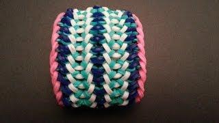 """Blaster Cannon"" Rainbow Loom Bracelet/How To Tutorial"