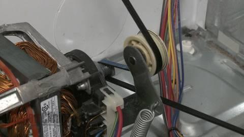Dryer Idler Pulley Wheel Replacement Duet He3 Dryer