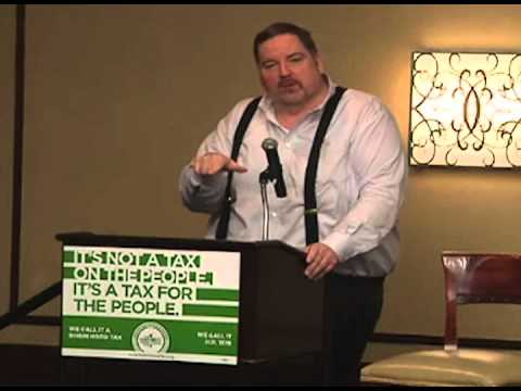 International President Larry Hanley Speaking at the Robin Hood Tax Conference