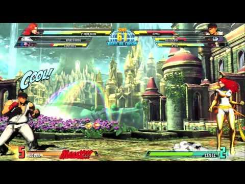 Marvel vs Capcom 3 SENTINEL Gameplay 1