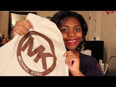 Handbag Unboxing: Michael Kors Hamilton Medium Satchel