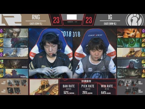 They Finally Banned Uzi Kai'sa - RNG VS IG Game 4 Highlights - 2018 LPL Playoffs Semifinals