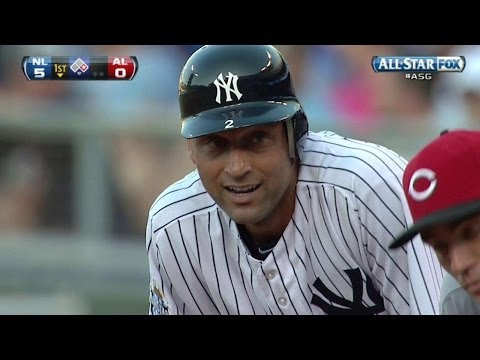 2012 ASG: Jeter passes Mantle for most All-Star hits