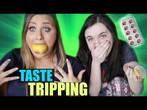 CRAZY TASTE TRIPPING PILL TEST!!!