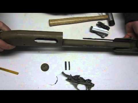 detail strip a remington 870