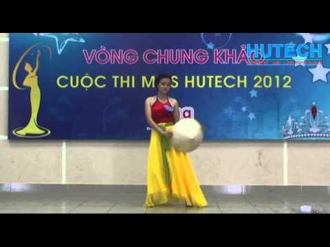 Miss Hutech 21012 - Múa: Quê tôi - Thí sinh Trần Thị Hồng Hạnh