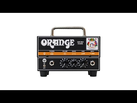 Orange Amps Micro Dark 20w Valve Hybrid Guitar Amp Head