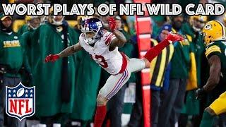 Worst Plays   NFL Wild Card Highlights