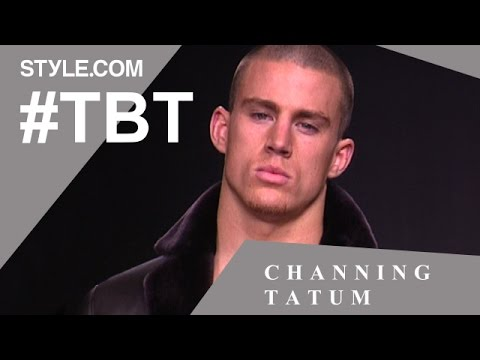 Channing Tatum's Fashion Past and Kate Moss Crush - #TBT with Tim Blanks - Style.com