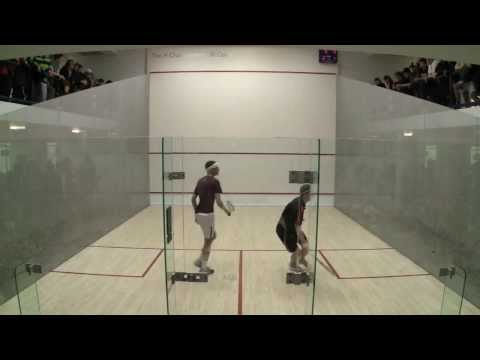Men's College Squash: 2013 National Team Championships - Princeton and Harvard #1s