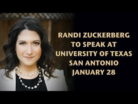 Randi Zuckerberg: UTSA Message